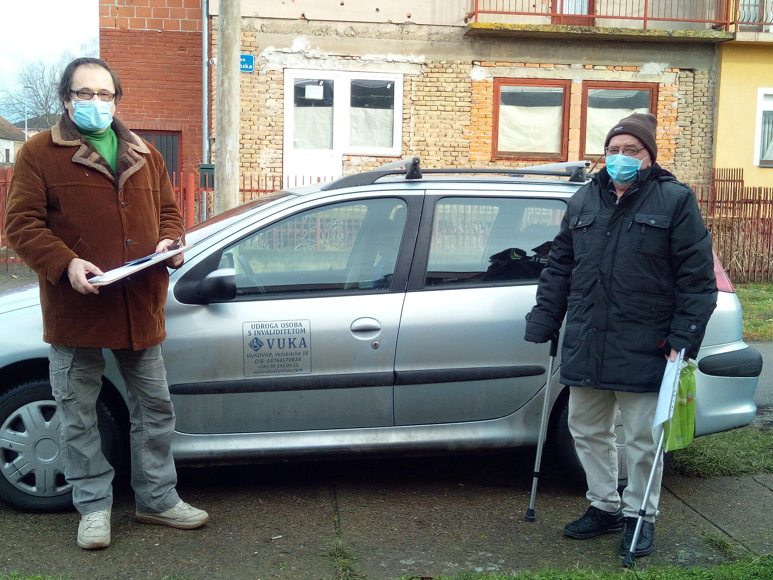 """Projekt """"S OSMIJEHOM STARITI 3"""" – Besplatan prijevoz za osobe s invaliditetom i osobe starije životne dobi"""